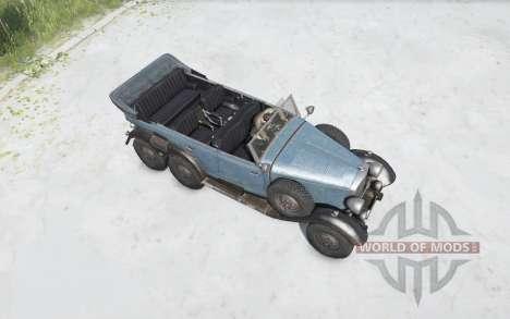 Mercedes-Beɳz G4 (W31) 1938 pour Spintires MudRunner