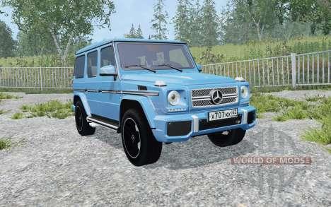 Mercedes-Benz G 65 AMG pour Farming Simulator 2015