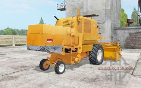 Bizon Super Z056 yellow orange pour Farming Simulator 2017