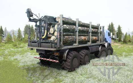 KamAZ-63501 Mustang pour Spintires MudRunner