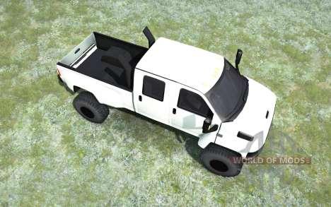 GMC TopKick C4500 Crew Cab pickup 2006 pour Spintires MudRunner