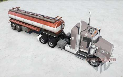 Kenworth T800 cinereous pour Spintires MudRunner