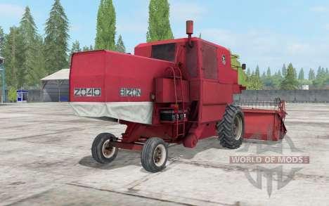 Bizon Z040 pour Farming Simulator 2017