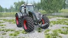 Fendt 936 Vario Black Beauty twin wheels pour Farming Simulator 2015