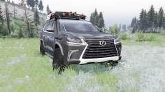 Lexus LX 570 (URJ200) 2016 off-road pour Spin Tires