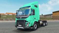 Volvo FMX 540 Globetrotter cab 2013 pour Euro Truck Simulator 2