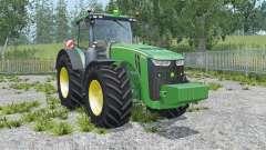 John Deere 8370R sea green für Farming Simulator 2015