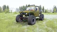 Suzuki Samurai Rainforest Challenge pour MudRunner