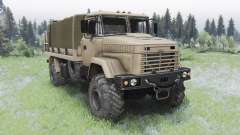 KrAZ-5131 pour Spin Tires