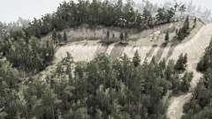 Forêt de creuse pour MudRunner