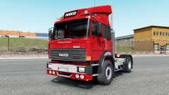 Iveco-Fiat 190-38 Turbo Special vivid red pour Euro Truck Simulator 2