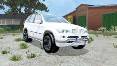 BMW X5 4.8is (E53) 2004 für Farming Simulator 2015