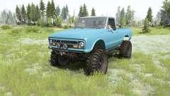 Chevrolet K10 1967 pour MudRunner