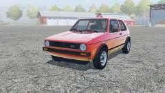 Volkswagen Golf GTI 3-door (Typ 17) 1976 für Farming Simulator 2013