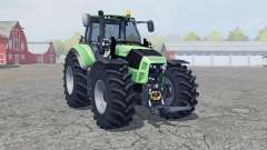 Deutz-Fahr 7250 TTV Agrotron manual ignition für Farming Simulator 2013