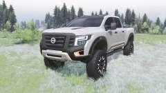 Nissan Titan Warrior concept 2016 pour Spin Tires