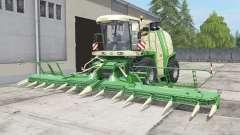 Krone BiG X 1100 bunkeᶉ capacité pour Farming Simulator 2017