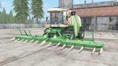 Krone BiG X 1100 chateau green für Farming Simulator 2017