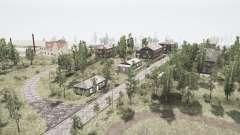 Le village et les montagnes de l'Oural 2 pour MudRunner