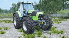 Deutz-Fahr 7250 TTV Agrotron real engine pour Farming Simulator 2015