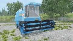 Bizon Rekord Z058 blue jeans pour Farming Simulator 2015