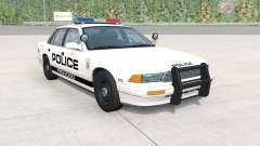 Gavril Grand Marshall Firwood Police v1.1 für BeamNG Drive