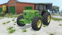 John Deere 4755 wheel options pour Farming Simulator 2015