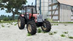 MTZ-1221 Biélorussie soft-couleur rouge pour Farming Simulator 2015