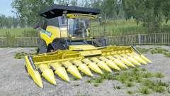 New Holland CR10.90 new exhaust sistem pour Farming Simulator 2015
