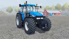 New Holland TM 190 deep sky blue pour Farming Simulator 2013
