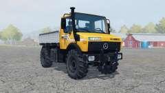 Mercedes-Benz Unimog U1450 (Br.427) vivid orange für Farming Simulator 2013
