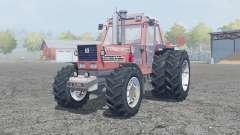 Fiat 180-90 Turbo DT dual rear wheels für Farming Simulator 2013