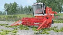 Bizon Super Z056-7 für Farming Simulator 2015