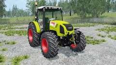 Claas Axos 330 peridot pour Farming Simulator 2015