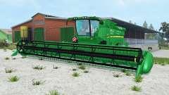 John Deere S690i pantone green für Farming Simulator 2015