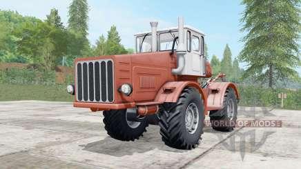 Kirovets K-700 a mäßig Farbe rot für Farming Simulator 2017