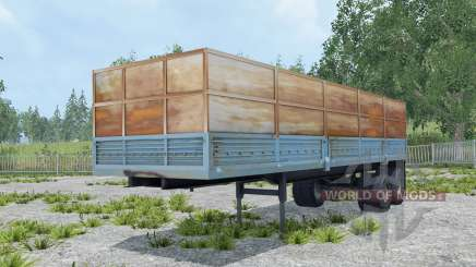 Odaz-9370 ungesättigte Farbe blau für Farming Simulator 2015