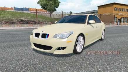 BMW 520d M Sport (E60) 2005 pour Euro Truck Simulator 2