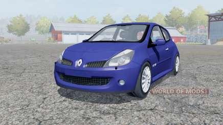 Renault Clio R.S. 2008 pour Farming Simulator 2013