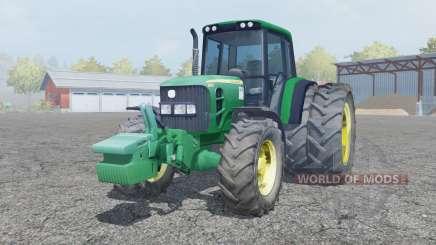 John Deere 6930 dual rear wheels pour Farming Simulator 2013