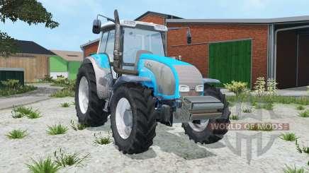 Valtra T140 vivid sky blue pour Farming Simulator 2015
