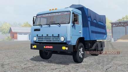 KamAZ-55111 manuelle Zündung für Farming Simulator 2013
