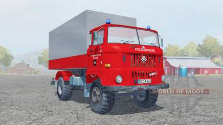 IFA W50 L Feuerwehr für Farming Simulator 2013
