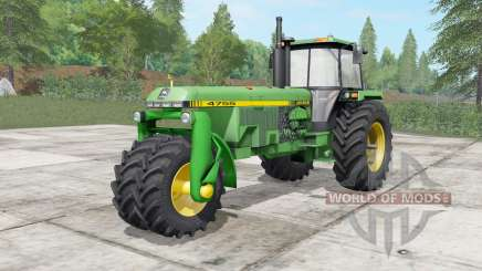 John Deere 4555-4755 trike für Farming Simulator 2017
