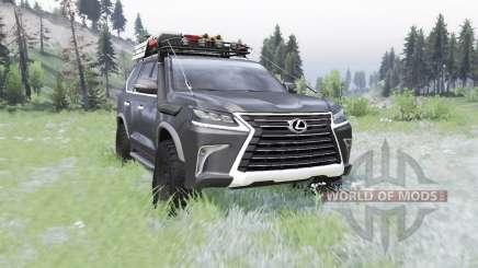 Lexus LX 570 (URJ200) 2016 off-road für Spin Tires