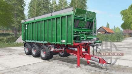Kroger Agroliner TAW 30 pigment green pour Farming Simulator 2017