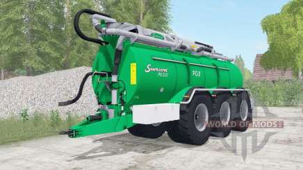 Samson PG II 27 caribbean green für Farming Simulator 2017