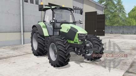 Deutz-Fahr 5110 TTV feijoa pour Farming Simulator 2017