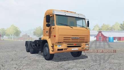 KamAZ-6460 soft orange Farbe für Farming Simulator 2013