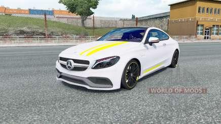 Mercedes-AMG C 63 S coupe (C205) 2016 pour Euro Truck Simulator 2